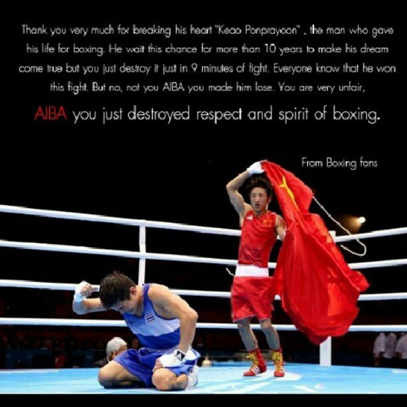 Focking AIBA Boxing Olympic Thailand แก้วพงษ์ประยูร