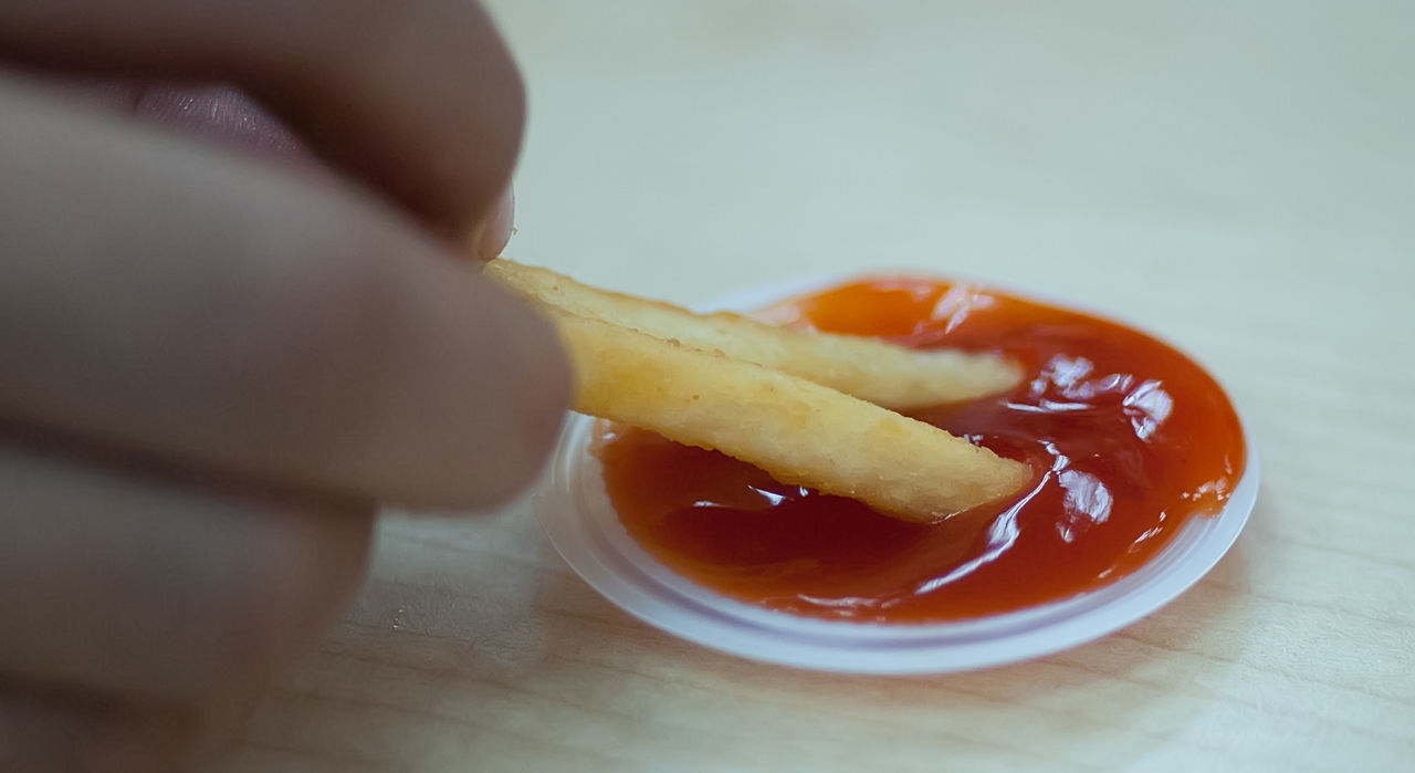 Loving it ! Dipping Food French Fries Indulgence Sauce Still Life Temptation Yummy Nritzz