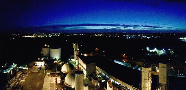 Carrington Air Separation Plant , UK Illuminated City Sky Night Cityscape Building Exterior Architecture Built Structure No People Outdoors Water Nature Horizontal Engineering Industrial Landscapes Industrial Industrial Photography Chemical Plant Tranquility View View From The Top View From Above Gas Gas Plant