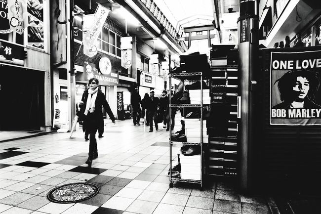 Well Turned Out Streetphotography Streetphoto_bw From My Point Of View Check This Out Urbanphotography Monochrome Eye For Photography Monochromatic Blackandwhite Photography Osaka,Japan