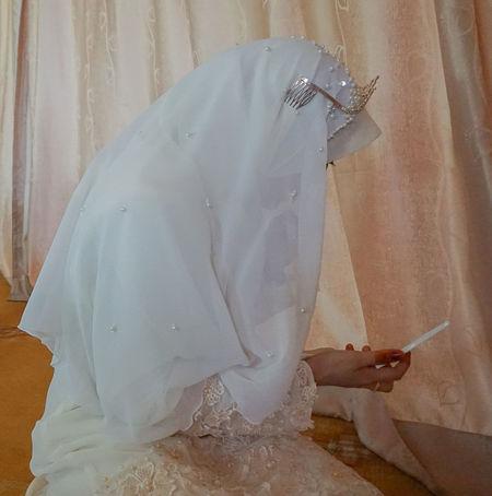 Bead Beads Close-up Confident  Crown Day Excitement Happy Henna Inai Kahwin Makeup Malay Malaysia Truly Asia Malaywedding Muslim Wedding Muslimah Muslimahfashion People Touching Tudung Veil Wedding Wedding Photography White