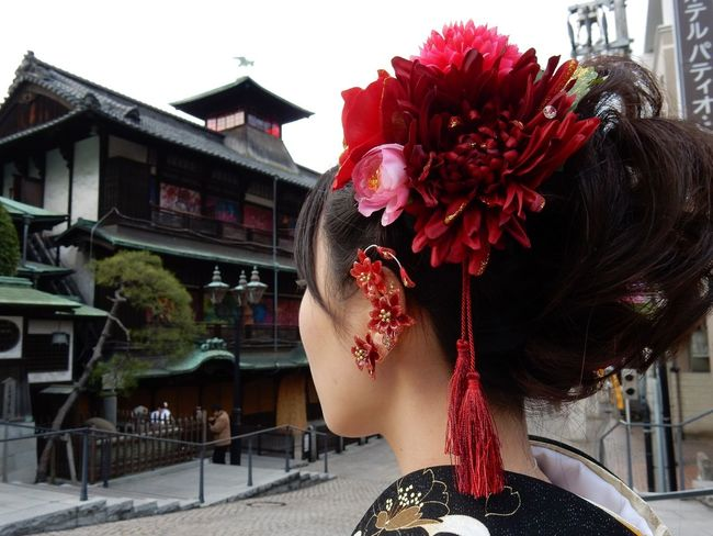 Dogo Onsen Hot Spring Coming-of-age Ceremony Kimono KimonoStyle Ehime Japanese Style 姫様 成人式 蜷川実花プロデュース 道後アート イアーアート 道後温泉