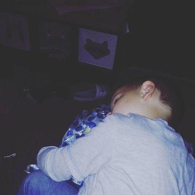 My little love passed out on my leg! Proudboymom Boymom Love Sleepy Threenager MYheart