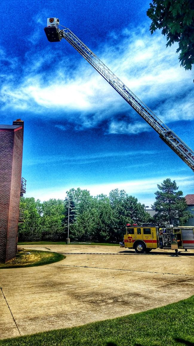 Firefighter Training No Days Off Apparatus Arial Service The Calling Ladder