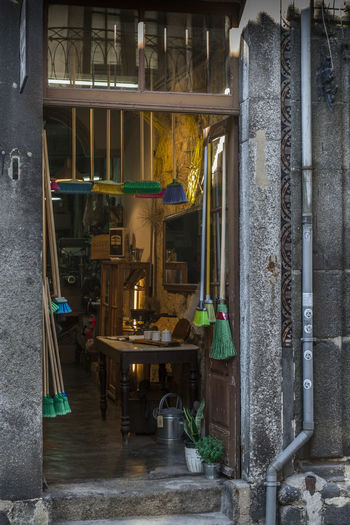 Nice moment of a open door shop in a alley in Porto. Art And Craft Door Porto Portugal Shop Wall First Eyeem Photo
