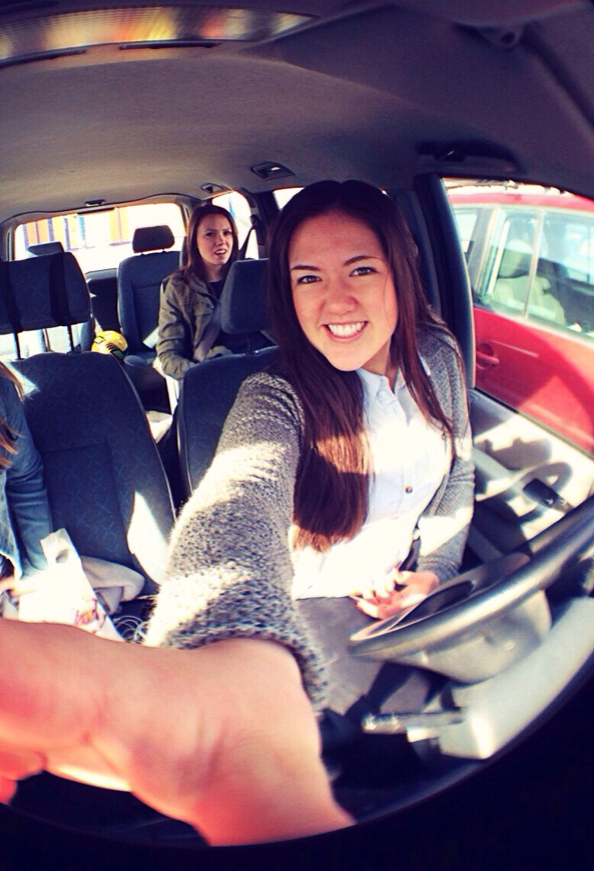 Happy Driving Nervous Passenger Haha