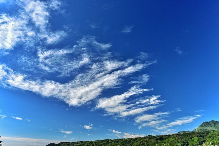 EyeEm Best Shots - Nature EyeEm Landscape Clouds And Sky Mountains Sky Blue Nature Beautiful Nature Japan Photography