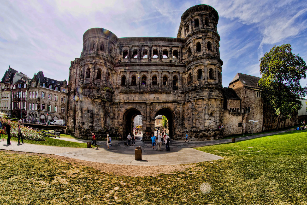 Ancient Architecture Building Exterior Built Structure Capital Cities  City Culture Façade Famous Place Germany My Travel Germanypage GERMANY🇩🇪DEUTSCHERLAND@ History International Landmark Porta Nigra The Past Tourism Tourist Travel Destinations Trier, Germany's Oldest City