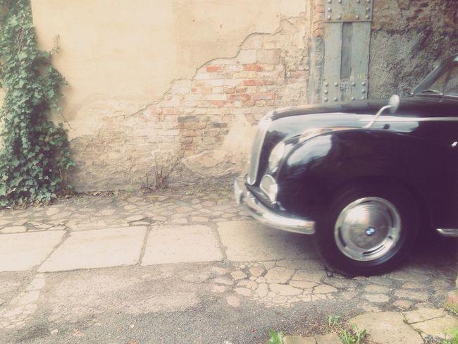 Oldtimer Car Wall