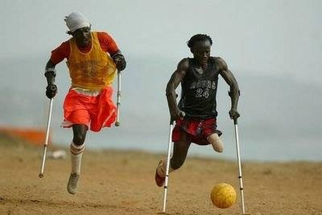 Hard to a living in Africa with disability.