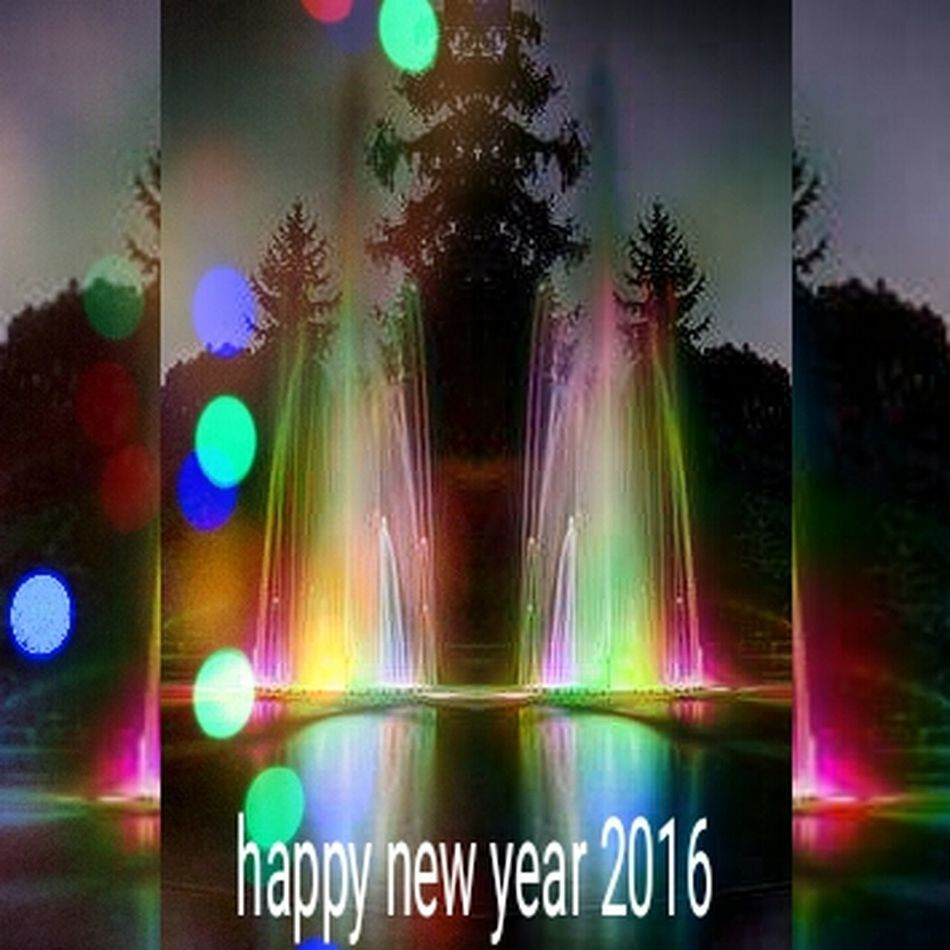 To all my followers and followings happy new year Hello World Colors Of Life Beautiful Sweet New Year I Love You !