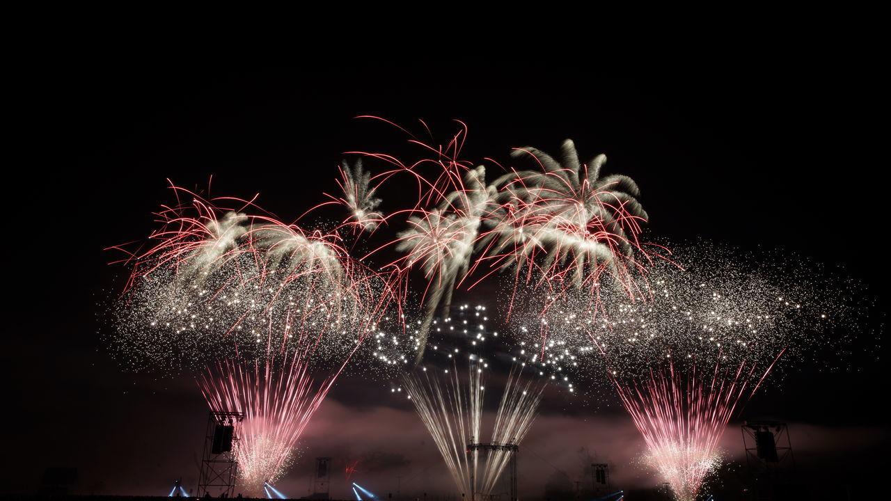 Nuit de Sologne 2014 Copyrght M. Moschini Celebration Event Exploding Firework Firework - Man Made Object Firework Display Fireworks Illuminated Motion Night Nuit De Sologne Fireworks 2014 Sky