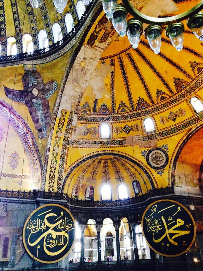 Hagia Sophia Istanbul Türkiye My Pilgrimage Historical Building History UNESCO World Heritage Site Such beauty!!