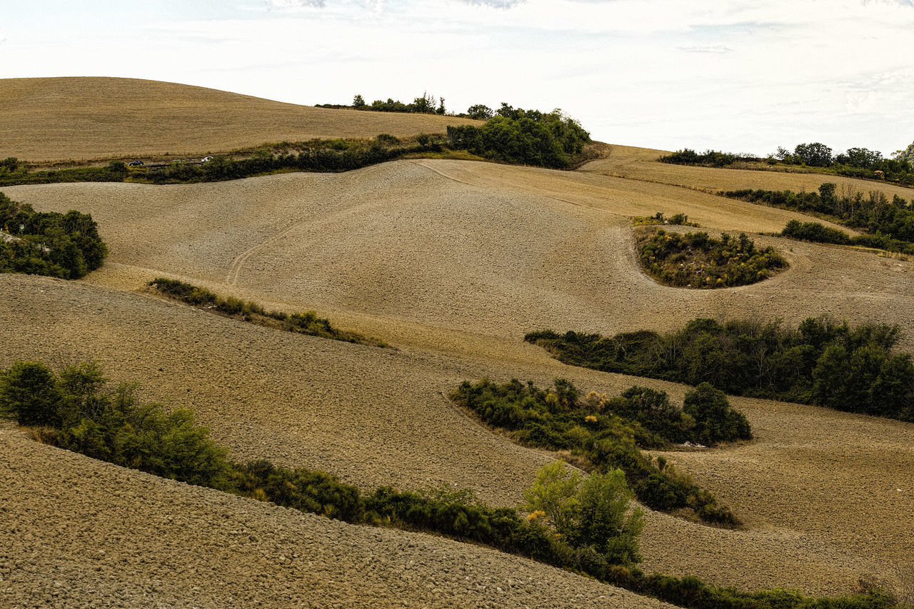 Agriculture Beauty In Nature Beauty In Nature Day Landscape No People Outdoors Plowed Field Rural Scene Tranquil Scene Tranquility Travel Destinations Tuscany Tuscany Countryside Tuscany Italy Tuscany Landscape