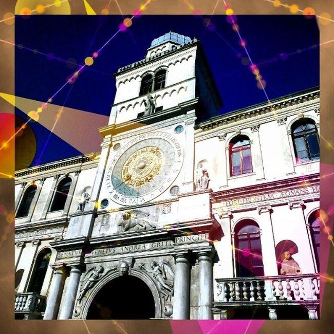 Torredell 'orologio Piazzadeisignori Padova Padua italy