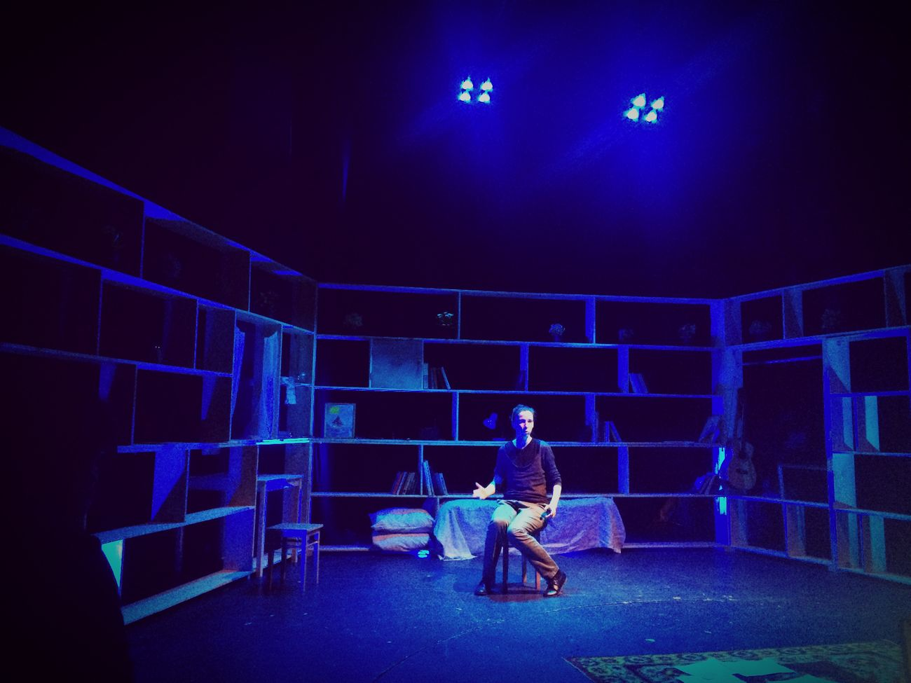 Rehearsal Theater Director дурочкаизек Blue Light