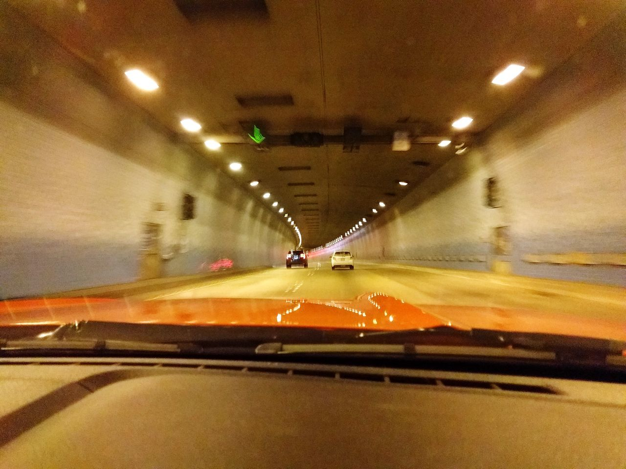 speeding through the tunnel in a convertible stang Transportation The Way Forward Motion Oahu, Hawaii Taking Photos In A Car Car On The Road Convertible Tunnel H3 Freeway Illuminated Speeding Hot Car In A Tunnel Overhead Lighting