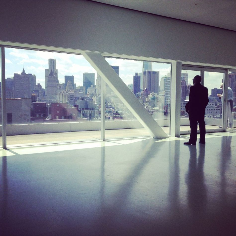 Amazing View Bridge Brooklyn Hudson River Modern Architecture Museum New York City Sejimakazuyo