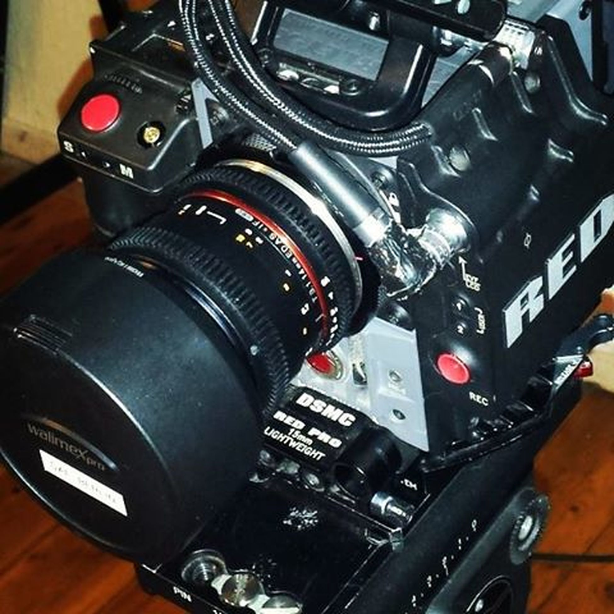 Camera Cinema Redpro Red Filming