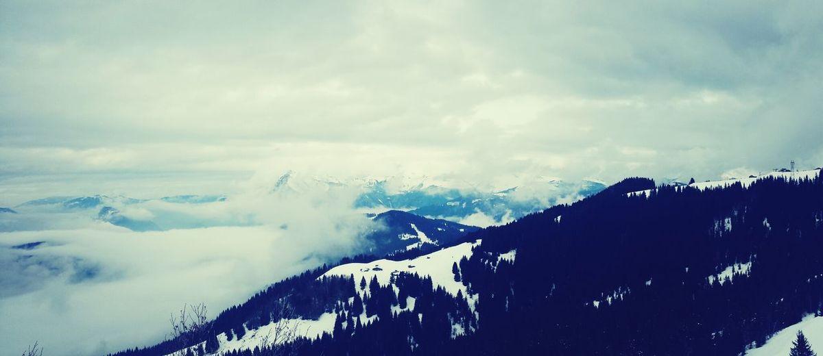 Morillon Montagne Mountains Landscape