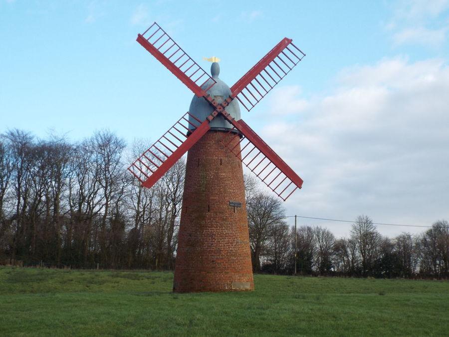 Haigh Windmill Haigh Hall Wigan United Kingdom Windmill