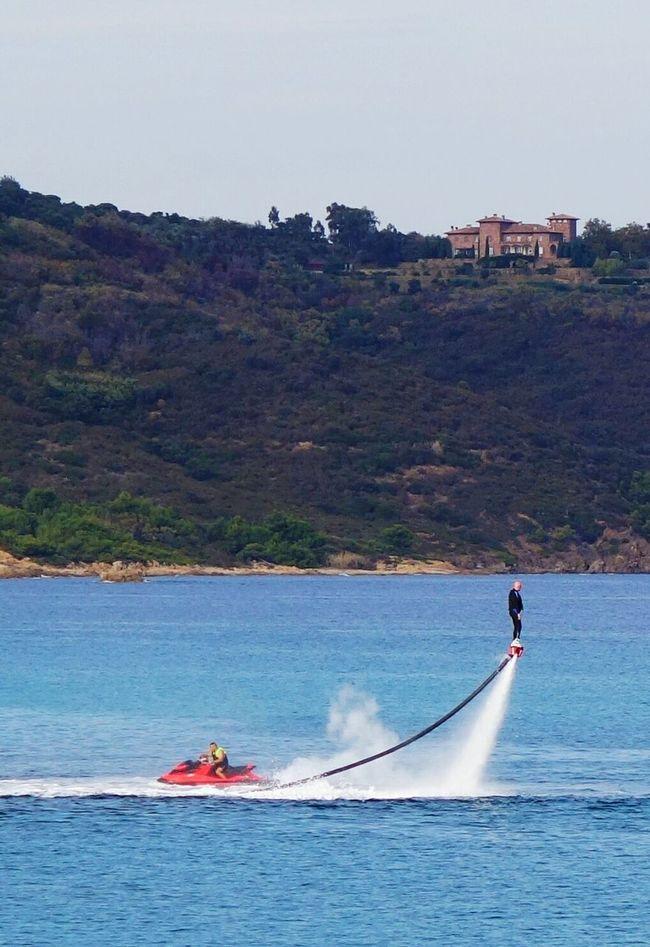 Nautical Vessel Jet Stream Saint-Tropez Water Sea