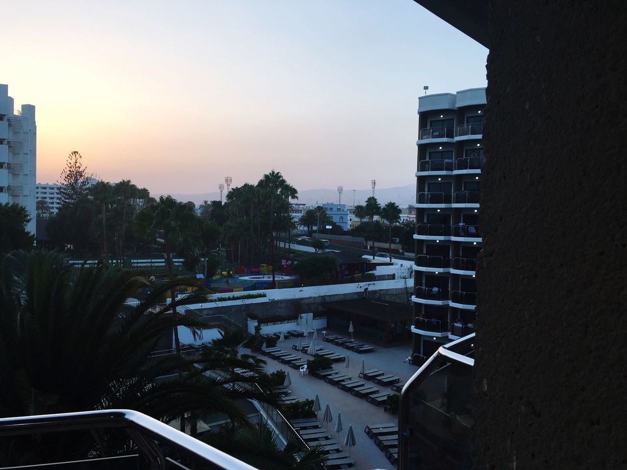 Hotel views from holiday were gorgeous! Dusk Clear Sky Vacations Holiday Sunset Views Fromthebalcony