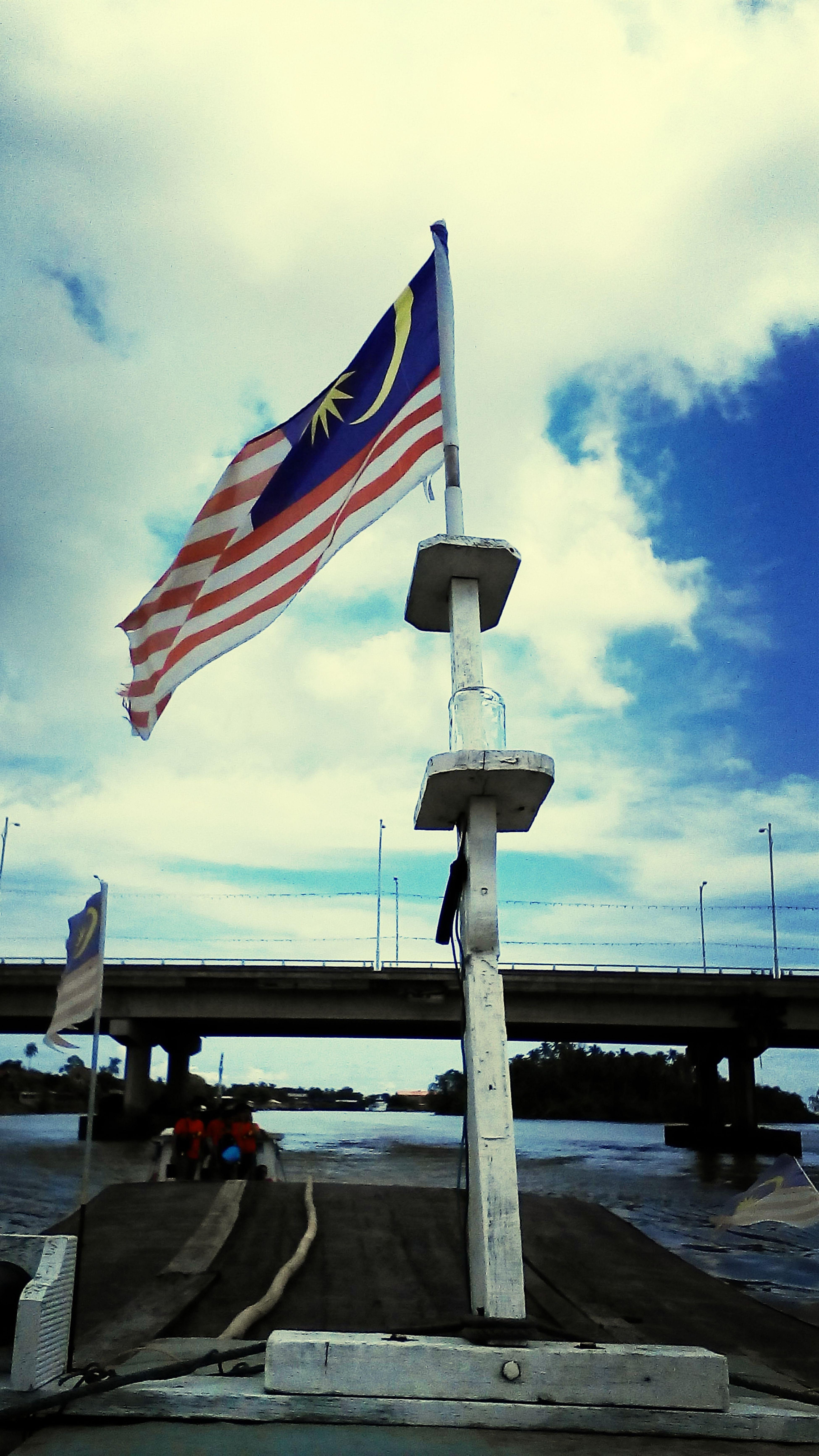 Bendera Vibratio Boat Visit Terengganu