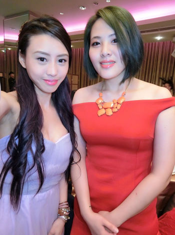 2017momoco尾牙 Glamour Young Adult Looking At Camera Nightclub Portrait Nightlife Party - Social Event Adults Only Young Women Night Togetherness Beautiful People Only Young Women Enjoyment People Arts Culture And Entertainment Two People Fashion Lifestyles Celebration
