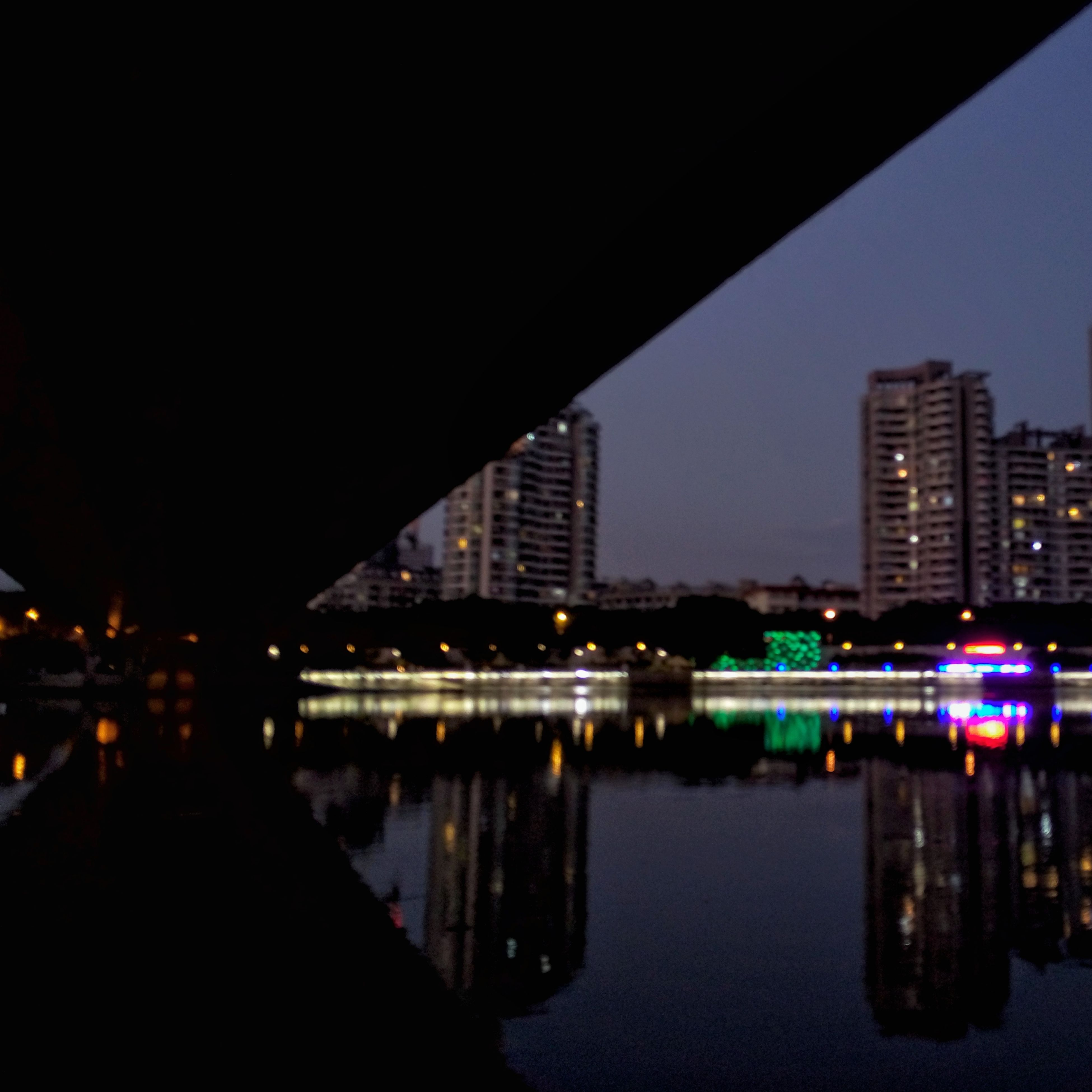 reflection, illuminated, night, water, city, building exterior, built structure, architecture, river, outdoors, bridge - man made structure, no people, sky, cityscape