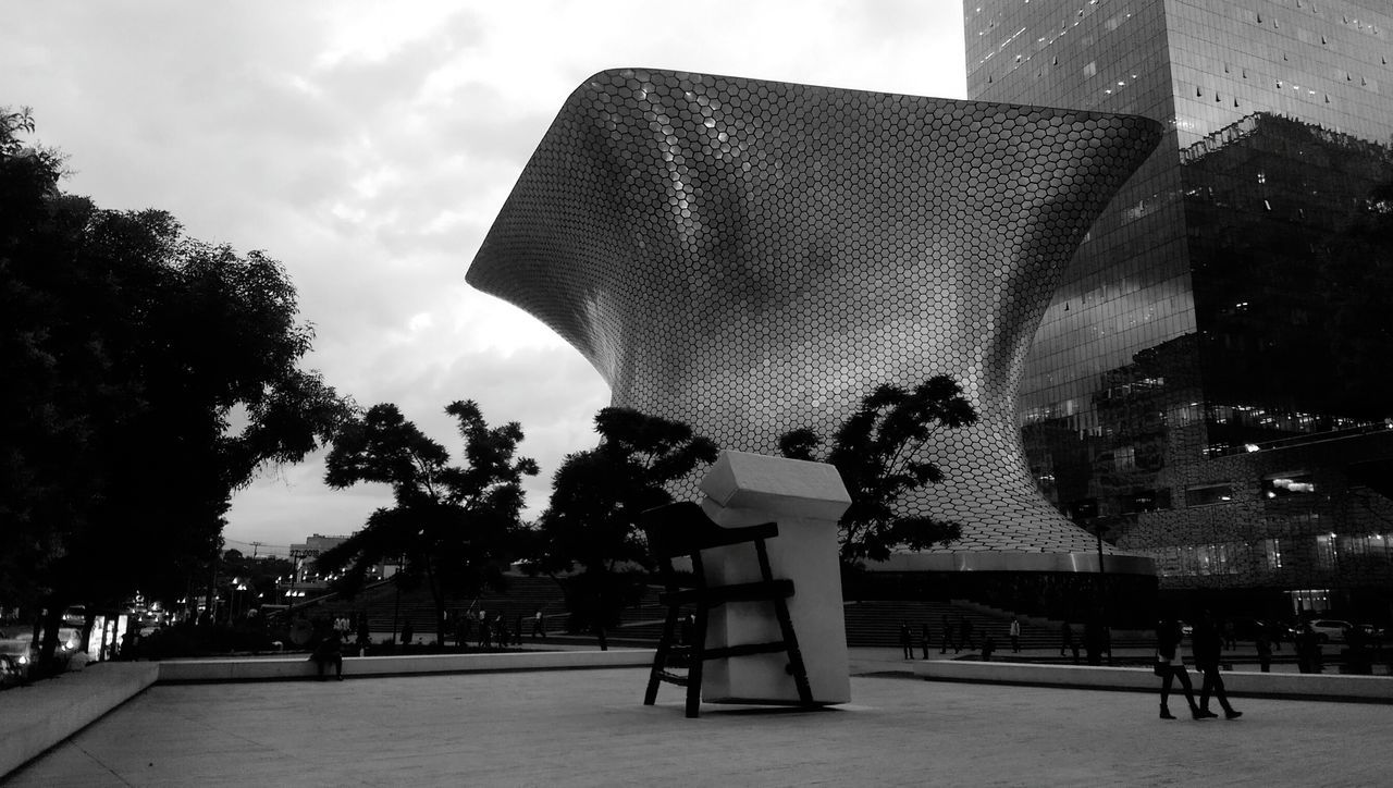 Museo Soumaya Chair & Cigarettes