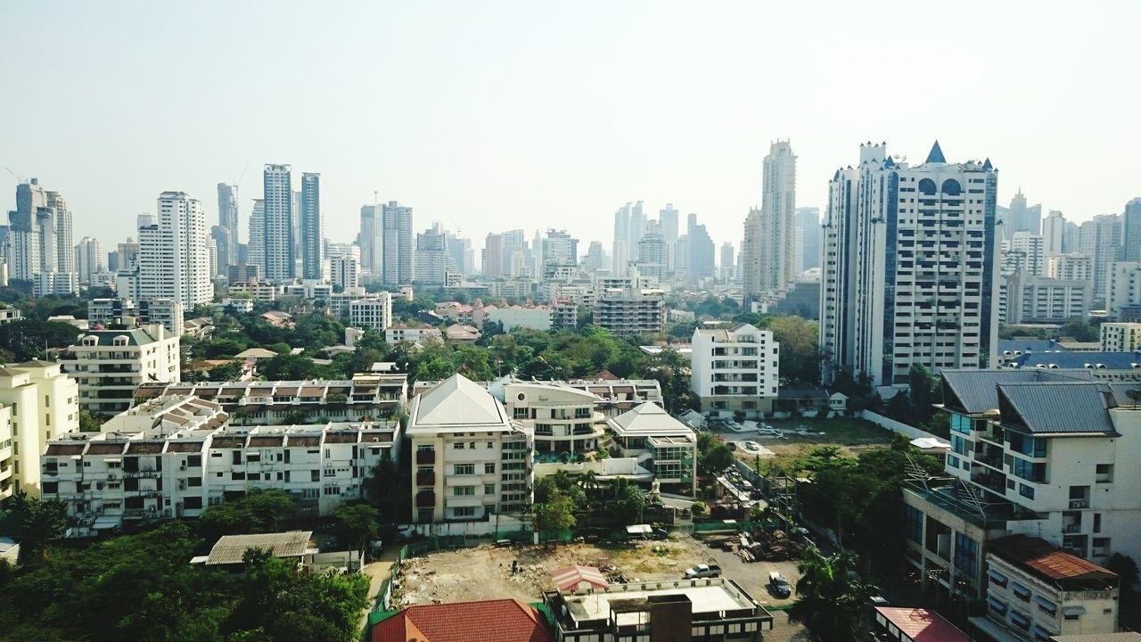 Outskirts of Bangkok Sky-line