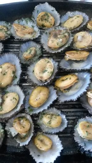 Food Food Porn Azores Islands Portugal Grilled Limpets Seafood