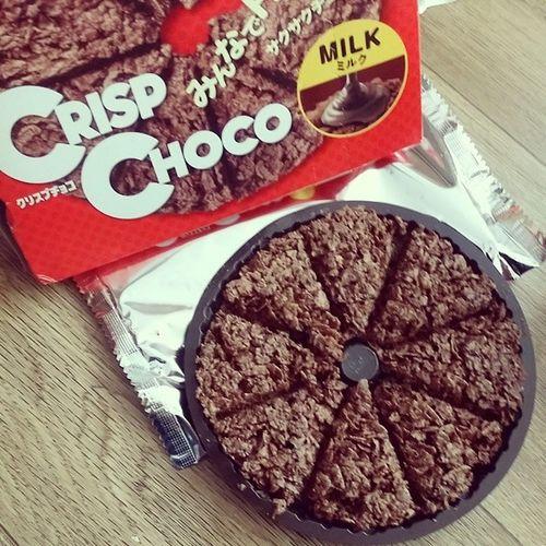 크리스피초코밀크초코 크리스피 밀크초코 8조각 crispchoco choco chocolate 맛스타그램 먹스타그램 instasize instadaily 인스타초코