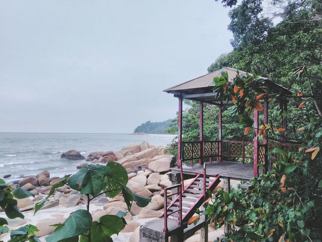 Kuantan Teluk Cempedak Pahang, Malaysia Beachphotography Built Structure Tourism Calm Solitude Beauty In Nature EyeEm Vision Water Sea