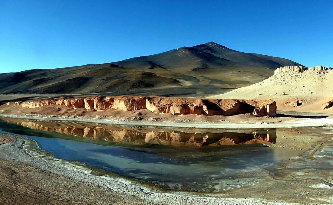 Laguna Verde Atacamadesert Chile Laguna Landscape Atacama Desert Nature Nature_collection Water Reflections Desertodoatacama Mountain