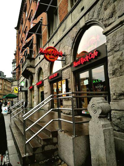 Real museum !!!Hard Rock Cafe Copenhagen, Denmark Guns N' Roses Slash  Michael Jackson