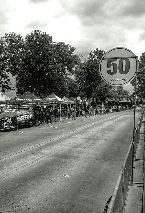 Round 3 of Tulsa Tough. Start/finish line opposite the Pasty zone on Cry Baby Hill. Lenka Snapseed Cycling Blackandwhite Black And White Walking Around Picoftheday Taking Photos