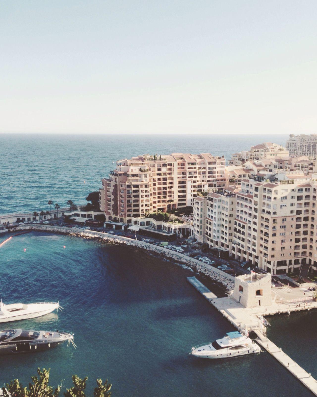Water Architecture Sea City Building Exterior Built Structure Clear Sky Capture Picoftheday Monaco Boat