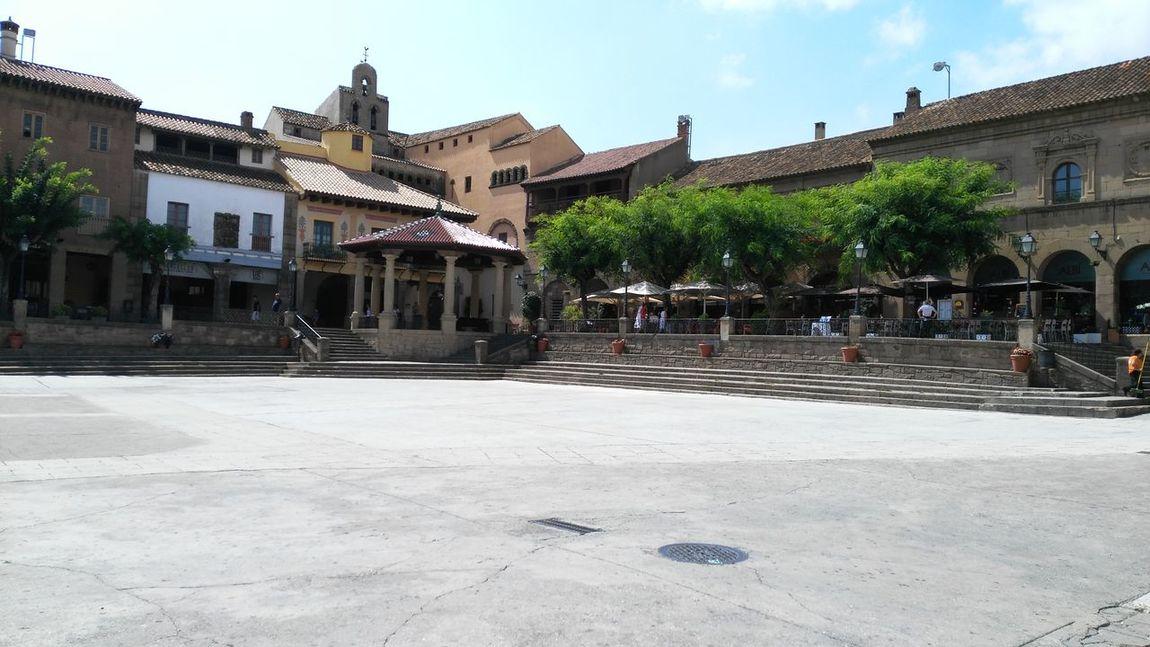 Building Exterior Architecture History Travel Destinations Poble Espanyol