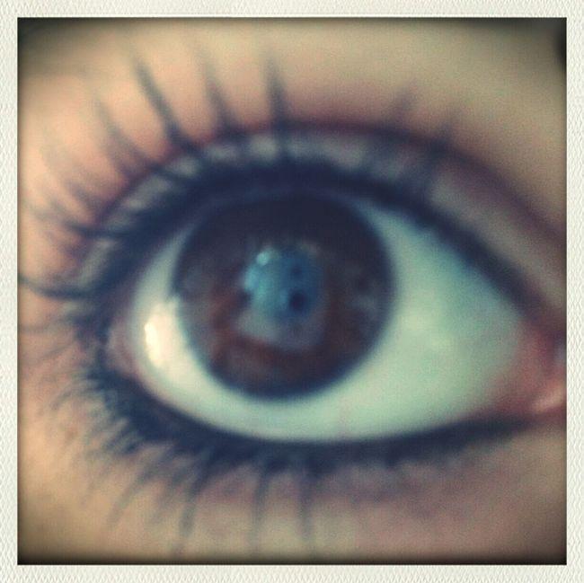 Braune Augen sind gefährlich, aber in der Liebe erlich