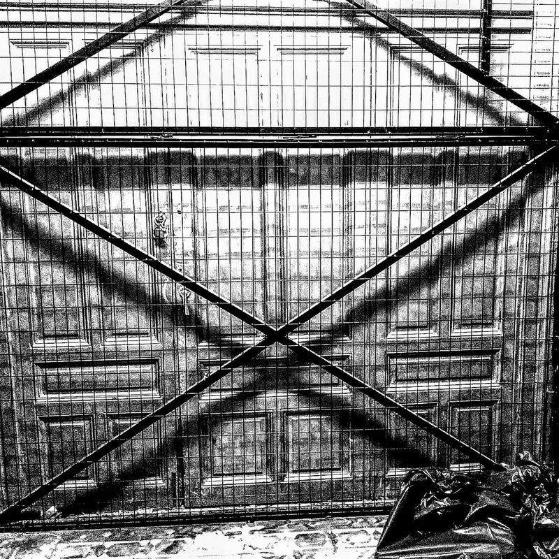 Forbidden I Blackandwhite B&w Built Structure Architecture Form B&wphotography Stark Contrast Urban Decaying Lenka Lenkacam Delapidated Structure Thessaloniki Greece Thessaloniki