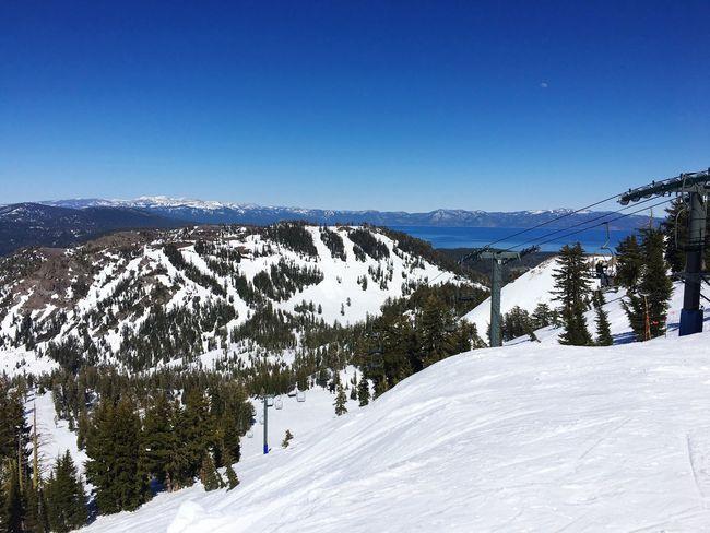 End of season Skiing in Lake Tahoe