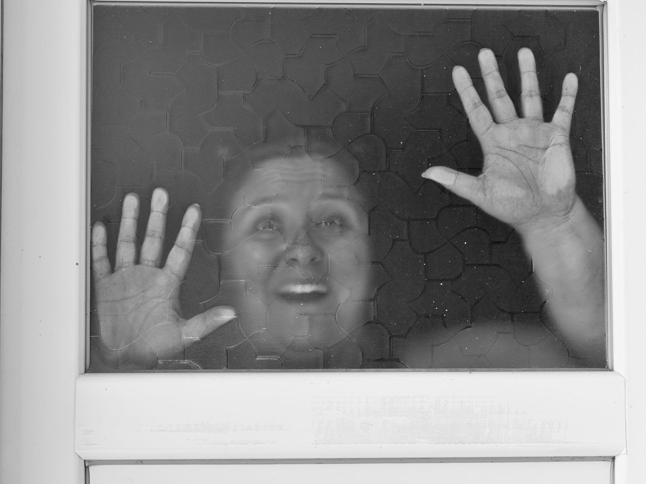 Help Me Alarmed Caged In Fear Gesturing Glass Reflection Horror Movies Horror Stricken Human Body Part Human Finger Human Hand Locked In Locked Up Nightmare One Person Palm Panic Panicky Scared Face Shock Terrified Terror Struck Trapped
