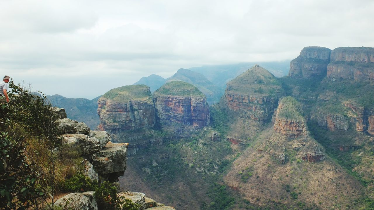 Mountain Scenics Cloud - Sky Landscape Sky Nature Cloudy South Africa Africa 3 Rondavels Rondavel Blyde River Canyon