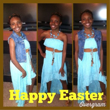 #Unposted me Easter Sunday