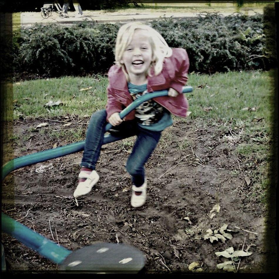 Tess in de speeltuin First Eyeem Photo