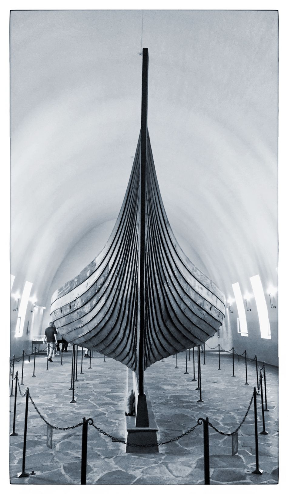 Vikgingship Oslo Viking Blackandwhite Norway