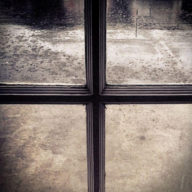September Downpour Rain Abstract