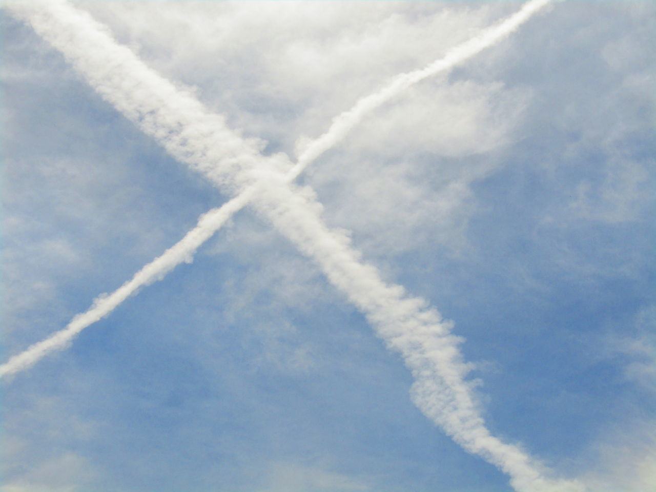 Himmel Chemtrail Chemtrails Contrail Kondensstreifen Sky Vapor Trail